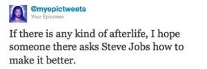 Steve Jobs + afterlife