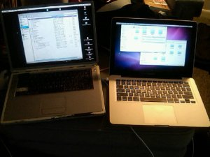 Powerbook vs MacBook Pro