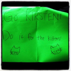 Do it for the Kittens